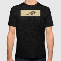 The Lizard Lounge Mens Fitted Tee Tri-Black SMALL