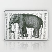 Elephant On Hindi Laptop & iPad Skin