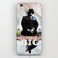 Notorious B.I.G iPhone & iPod Skin