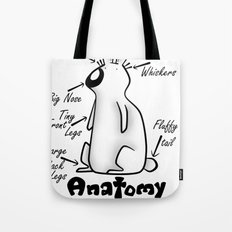 Anatomy of a Bunny Tote Bag