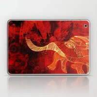 When Elephants Cry. Laptop & iPad Skin