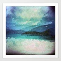 Tropical Island Multiple… Art Print
