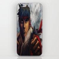 Ryu Focused  iPhone & iPod Skin