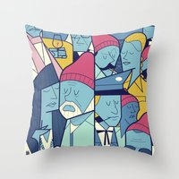 The Life Acquatic with Steve Zissou Throw Pillow