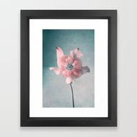 Framed Art Print featuring Memory by Claudia Drossert