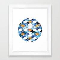 Argyle Aquarium Framed Art Print