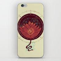 Red Lotus iPhone & iPod Skin