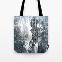 Icicle Dreams Tote Bag