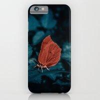 Red in the dark iPhone 6 Slim Case