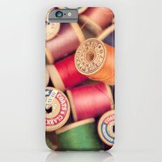 vintage spools Slim Case iPhone 6s