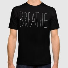 Breathe Mens Fitted Tee Black SMALL