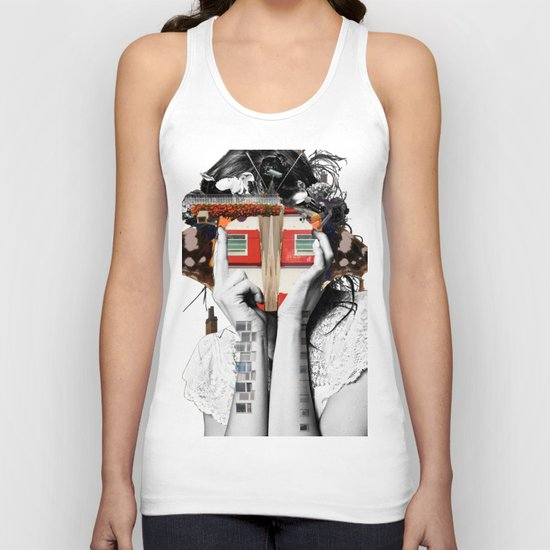 Crazy Woman - Lisa Lara Bella Unisex Tank Top