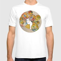 Sari  Mens Fitted Tee White SMALL