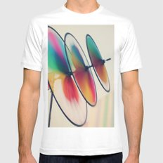 Spin, spin, spin Mens Fitted Tee White SMALL