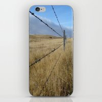 I Love The Prairies iPhone & iPod Skin