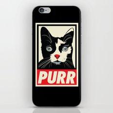 PURR Propaganda iPhone & iPod Skin