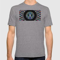 MAGNOPOLES Mens Fitted Tee Athletic Grey SMALL