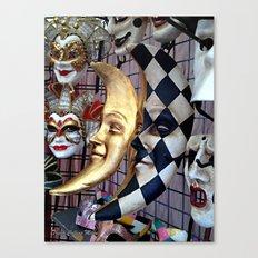 Masquerade4 Canvas Print