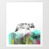 Wild No. 3 // Wolf Art Print