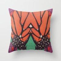 Monarch... Throw Pillow