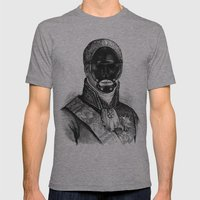 BDSM XXI Mens Fitted Tee Athletic Grey SMALL