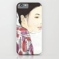 iPhone & iPod Case featuring Kind Mother by KristinMillerArt
