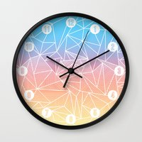 Bakana Rays Wall Clock