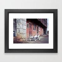 610 Barn #2 Framed Art Print