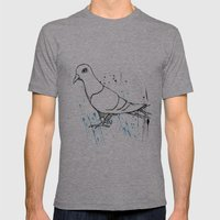 Bird Of Grey Mens Fitted Tee Athletic Grey SMALL