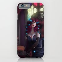 iPhone & iPod Case featuring Vampire Lady by Jessica Prando
