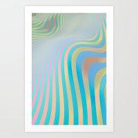More Waves Art Print