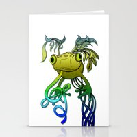 Psychoactive Frog Stationery Cards