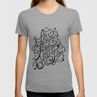 Live For Your Hopes Womens Fitted Tee Tri-Grey SMALL