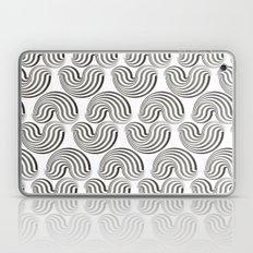 Black and white pattern - Optical game12 Laptop & iPad Skin
