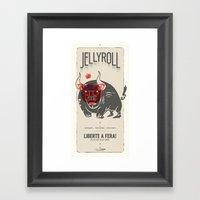 Jellyroll #1: Liberte a fera! Framed Art Print