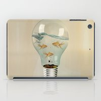 Ideas And Goldfish 03 iPad Case