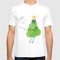 O Christmas Tree Mens Fitted Tee White SMALL