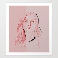 Isabelle Art Print