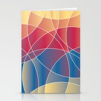 Sunset Curves Stationery Cards
