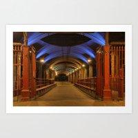 Granary Wharf Art Print