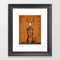 DressForm Deer #1  Framed Art Print