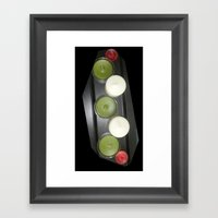 Just Some Candles Framed Art Print