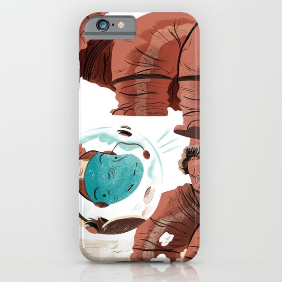 Space Brontosaurus  iPhone & iPod Case