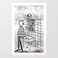 Depersonalization Art Print