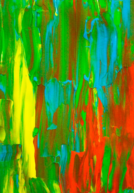 Abstract Painting 28 Art Print