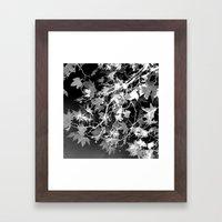 Electric Shadows Framed Art Print