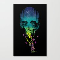 THE FORBIDDEN BUTTERFLIES Canvas Print