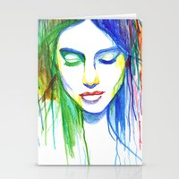 Sadness is a Blessing Stationery Cards