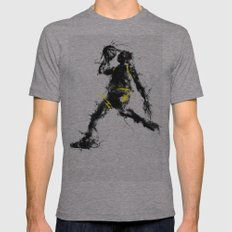 Anti gravity Mens Fitted Tee Athletic Grey SMALL