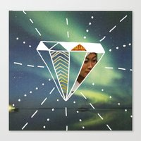 Another Day Another Diamond Canvas Print